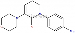 1-(4-Aminophenyl)-3-(morpholin-4-yl)-5,6-dihydropyridin-2(1H)-one