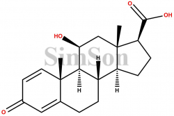 (8S,9S,10R,11S,13S,14S,17S)-11-hydroxy-10,13-dimethyl-3-oxo-6,7,8,9,10,11,12,13,14,15,16,17-dodecahydro-3H-cyclopenta[a]phenanthrene-17-carboxylic acid