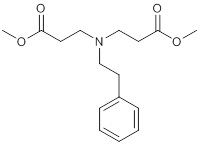 Dimethyl-3,3'-[(2-phenylethyl)imino]dipropanoate