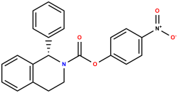 (S)-4-Nitrophenyl 1-Phenyl-3,4-dihydroisoquinoline-2(1H)-carboxylate