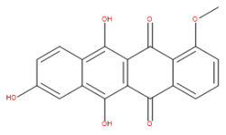6, 8, 11-Trihydroxy-1-methoxy-5, 12-naphthacenedione