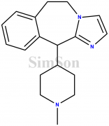 11-(1-methylpiperidin-4-yl)-6,11-dihydro-5H-benzo[d]imidazo[1,2-a]azepine