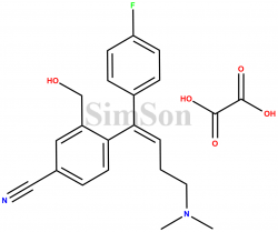 Citalopram Alkene Impurity Oxalate