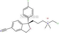 N-Chloromethyl Escitalopram Impurity